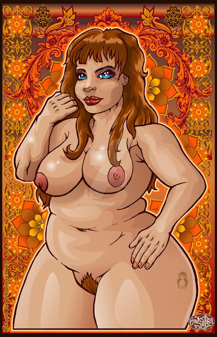 Bigiful girl poster 2 nude by godzillasmash