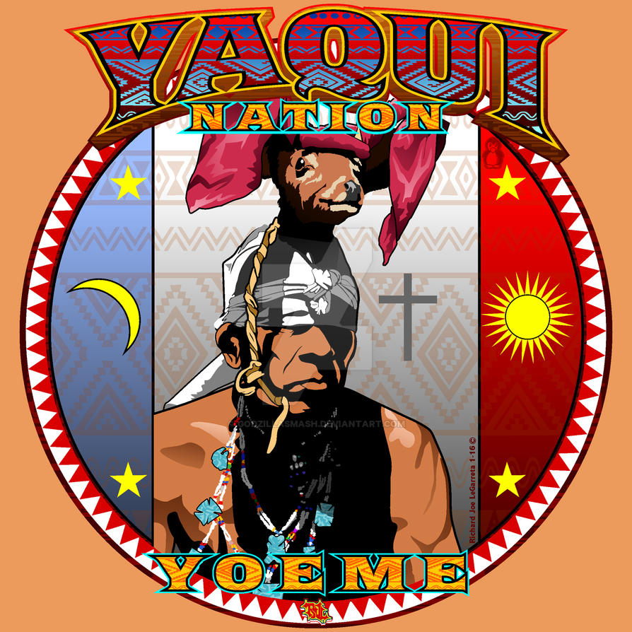 Yaqui Deer Dancer Tshirt Design Sml By Godzillasmash On