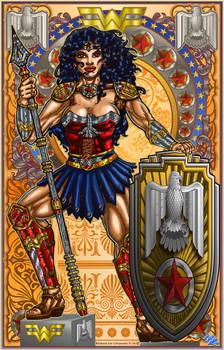 Wonder Woman Art Print 11 x 17