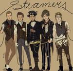 Steampunk AU