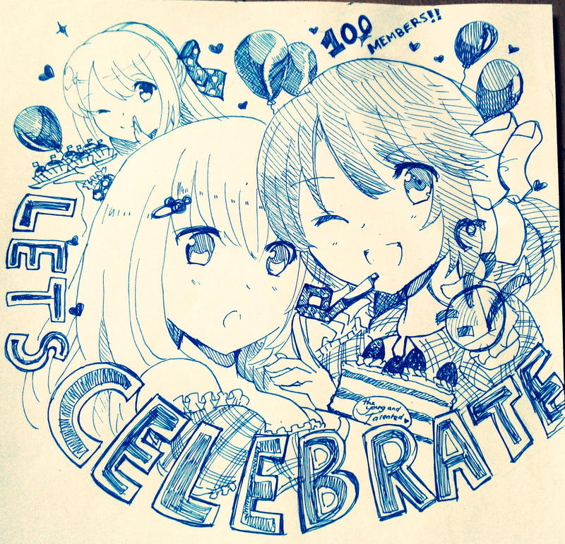 LETS CELEBRATE~! by IZAEON