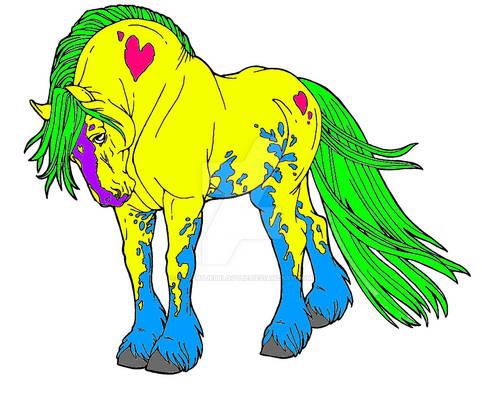 Fantasy Drum Horse