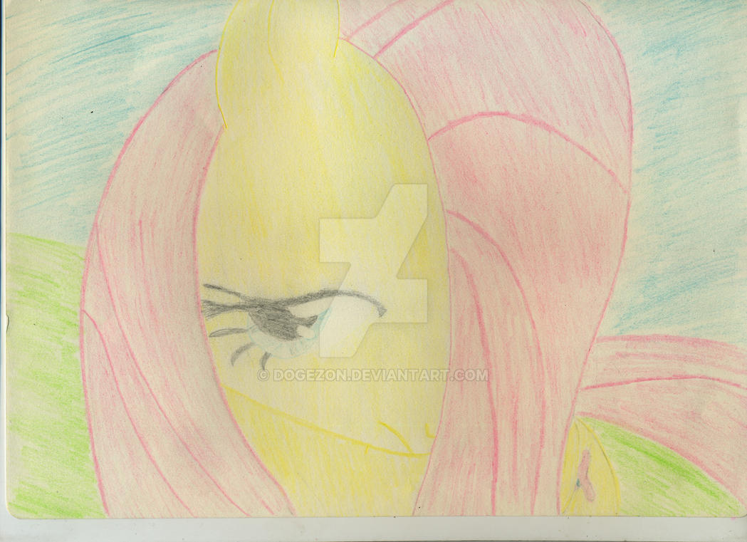 Um, my name is fluttershy by Dogezon