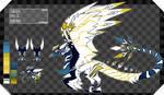 Bleeding Golden Blue - Dragon ADOPT AUCTION (OPEN) by Sunsetloverr