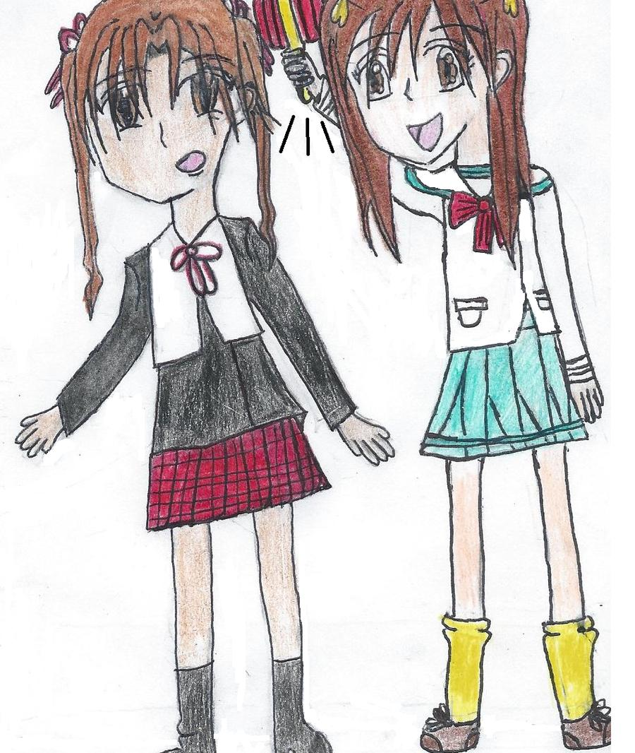 Gakuen Alice and kodocha Crossover by Lenaleekitkat