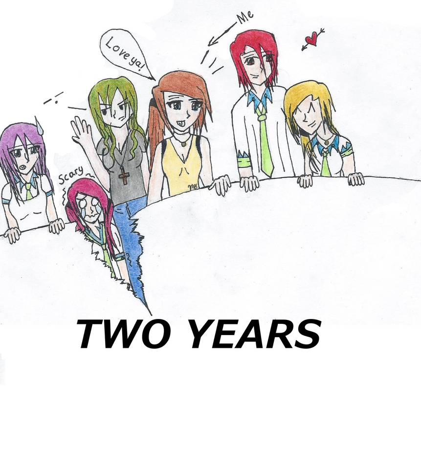Happy 2 years by Megwenvids
