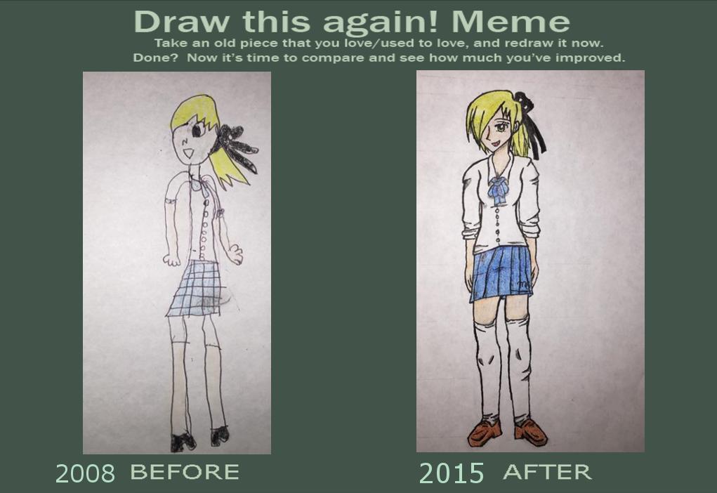 Jen Draw this agian meme by Lenaleekitkat
