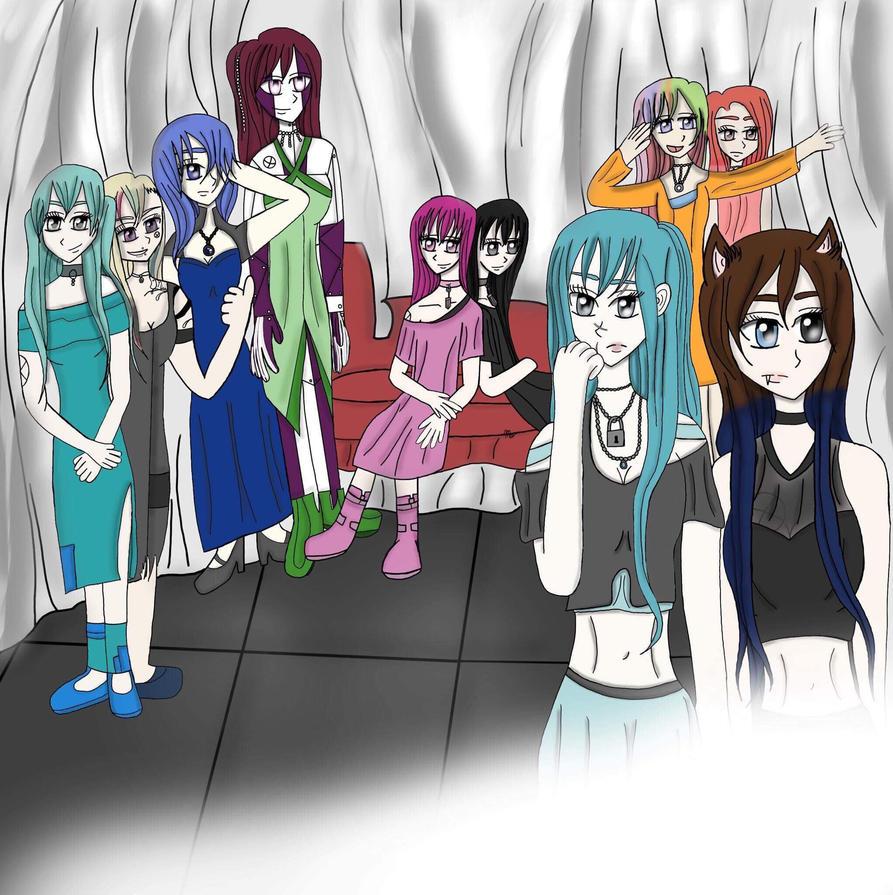 The girls of absolute revenge (original manga) by Megwenvids