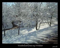 Wonderland from my Window by jadeoracle