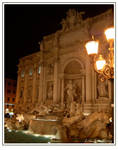 Night at the Trevi