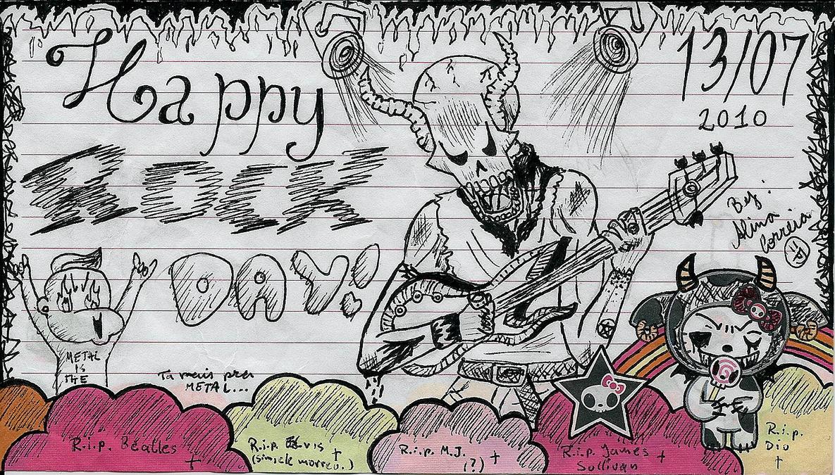 Happy Rock Day 2010 by AllieKaKarotto on DeviantArt