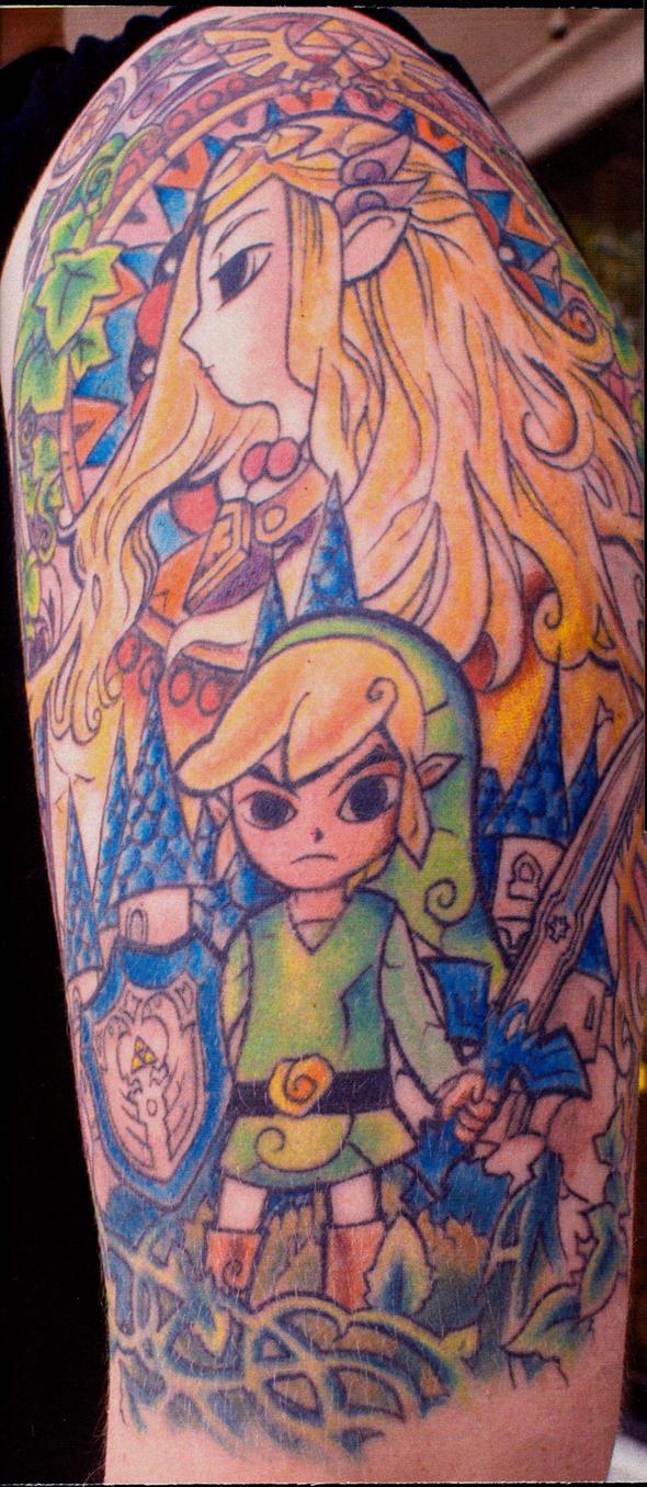 zelda tattoo by ShannonRitchie