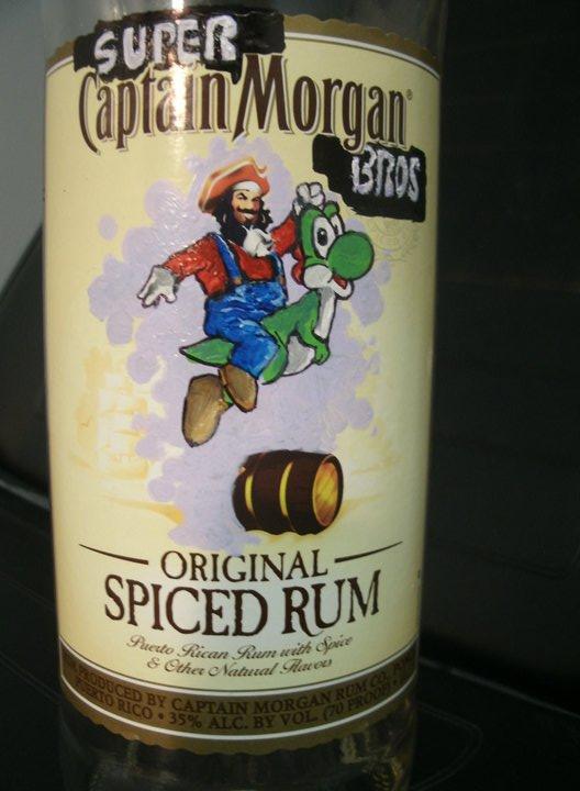 Super Mario Morgan by ShannonRitchie