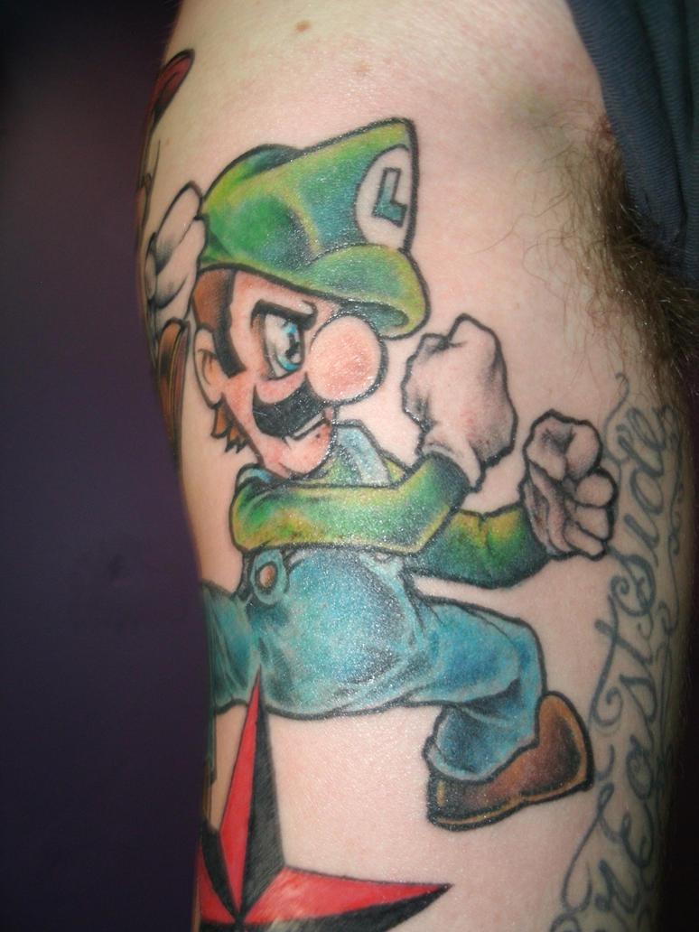 Luigi _fighting Irish Style by ShannonRitchie