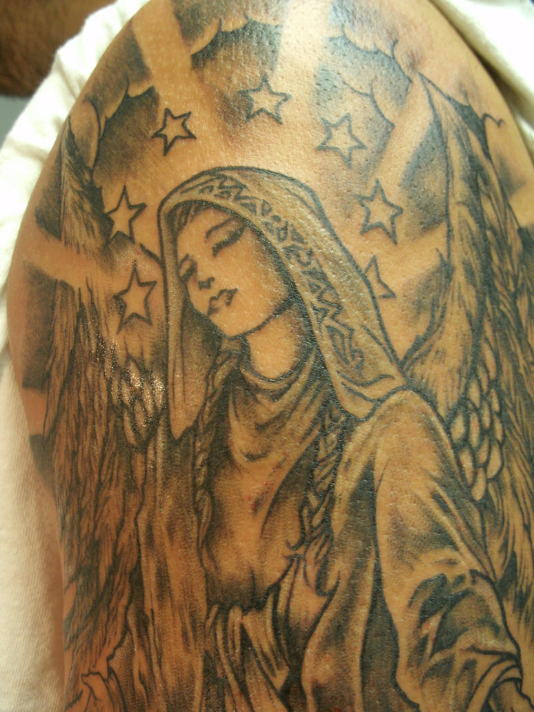 Mary tattoo by ShannonRitchie