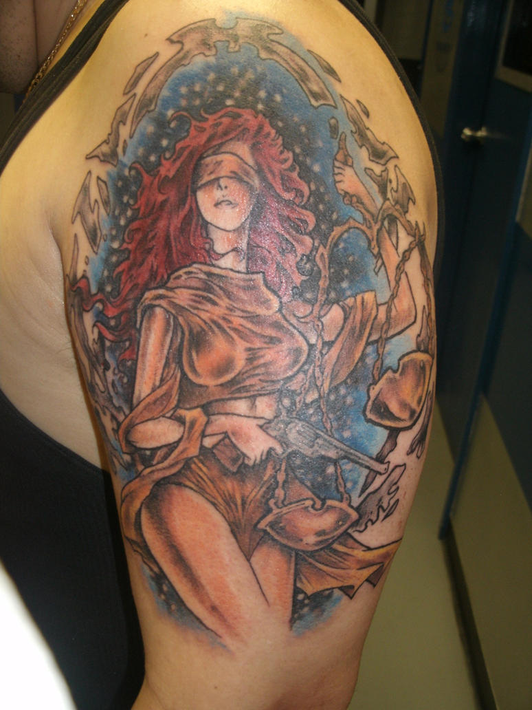 Lady Justice Tattoo by ShannonRitchie on DeviantArt