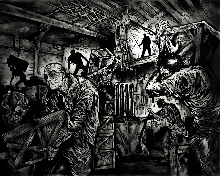 Zombies on the Loading Docks