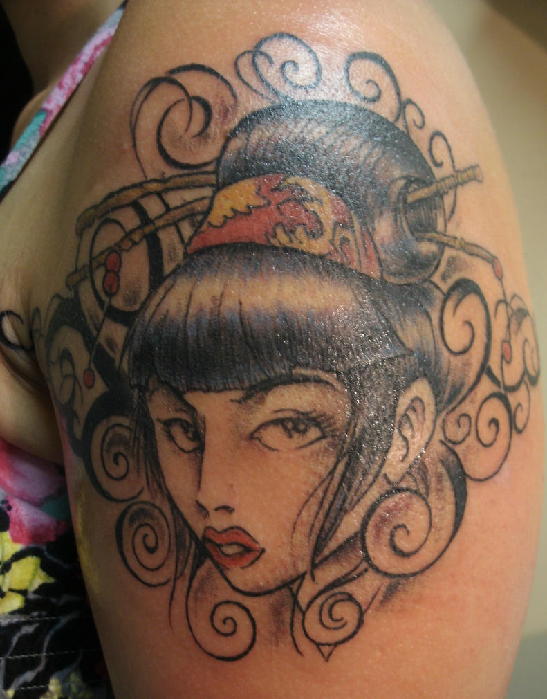Geisha Tattoo by ShannonRitchie