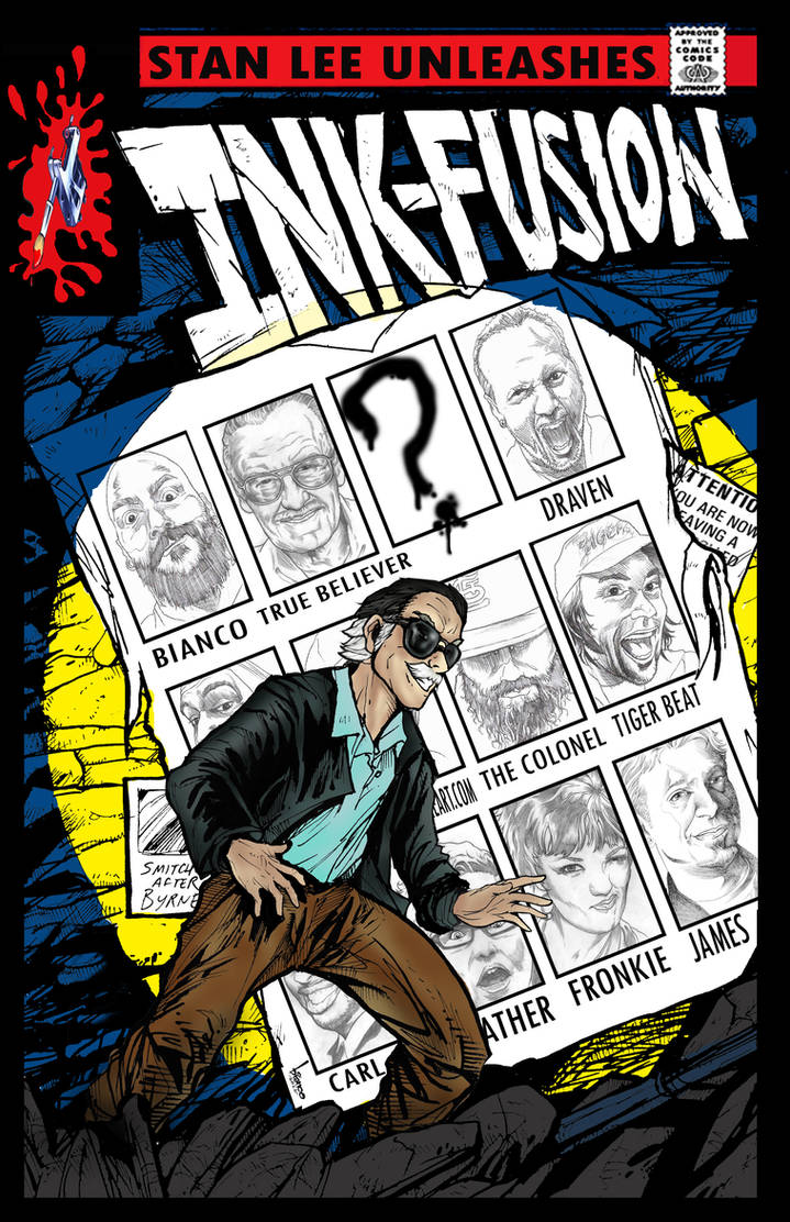 Ink-Fusion Ohio Wizard World Poster