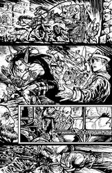 Poison Elves page from issue #1
