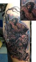 Jon Snow game of thrones tattoo
