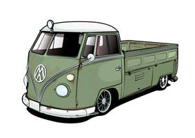 VW Ratty Pick Up Unfinished II by flatfourdesign