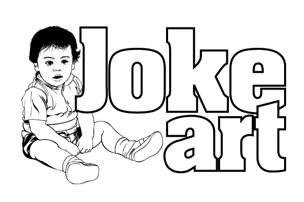 One Liner Jokes About Art : Joke art logo line work by flatfourdesign on deviantart