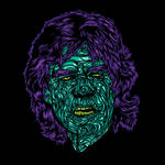Zombie Jagger by flatfourdesign