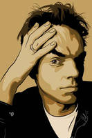 Hugo Weaving by flatfourdesign