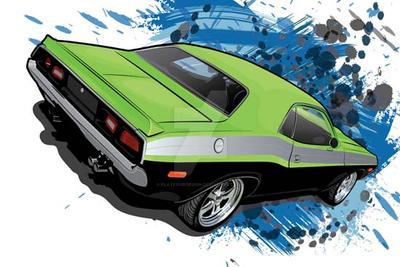 Dodge Challenger by flatfourdesign