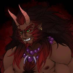 The Demon of New Moon Shrine