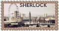 Sherlock BBC Stamp by OMissTifaLockhartO