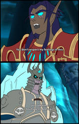The Lich King to His Death Knights