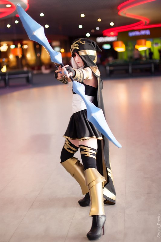 League of Legends Ashe by ryuuki-ayu