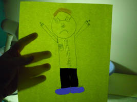 Angry Video Game Nerd Fanart by Luke1993