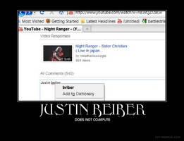Justin Beiber Demotavational by Luke1993