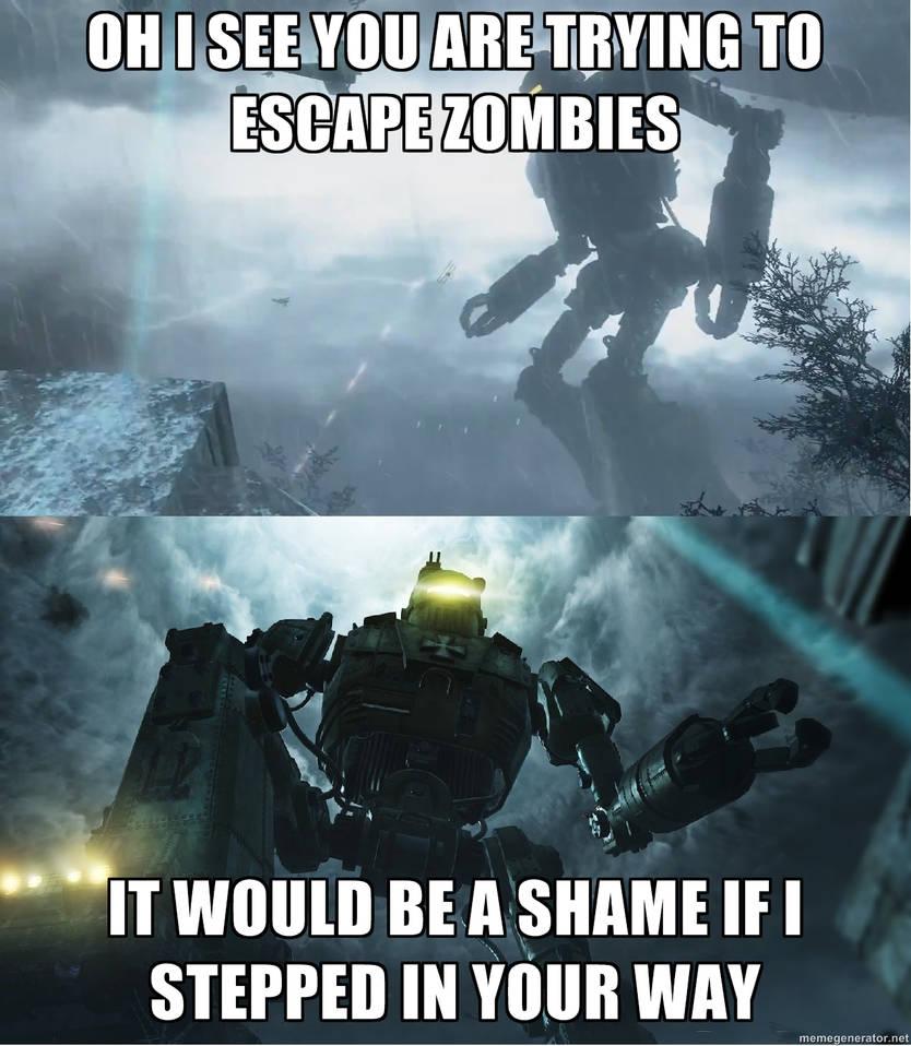 Call of duty Zombies Robot Meme by Luke1993