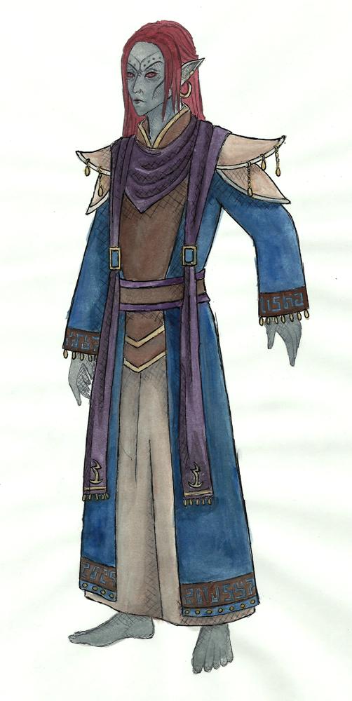 Robe of the Telvanni Hortator [SKYWIND] by nadir0571024