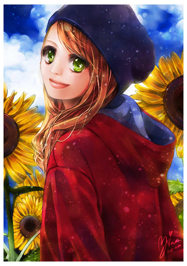 Sunflower Rhapsody by Yinamon