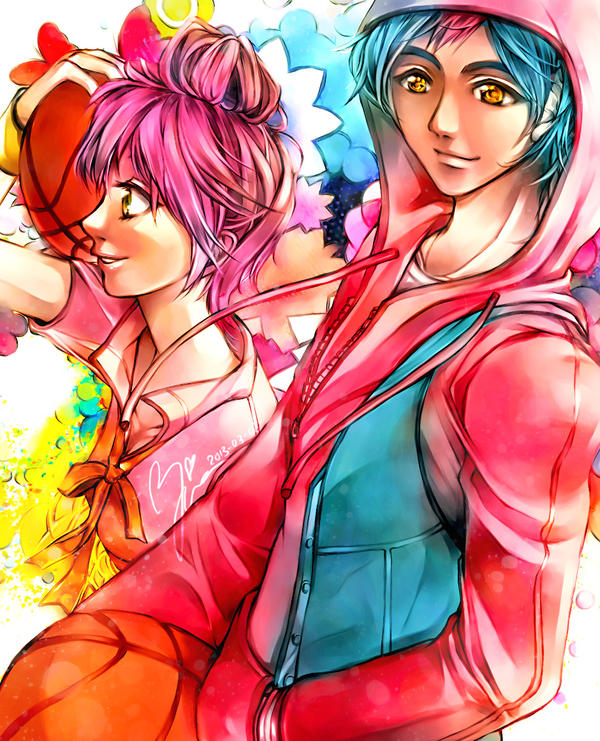 Asobo! Team Aiko and Yuki by Yinamon