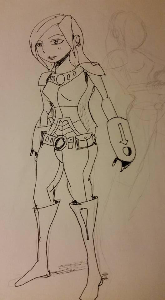 Female future kid by Dallas-Draws