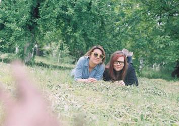 My friend and I by Takemewhereiwannago
