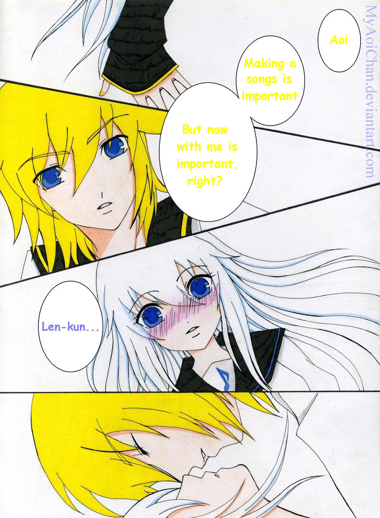 Len want more affection from Aoi by MyAoiChan