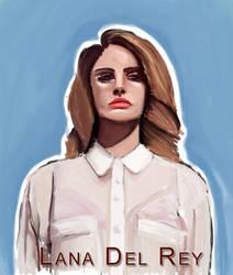 Lana Del Rey by Jeungo