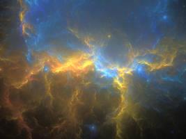 Cold Fire Nebula by Portador-de-Tormenta