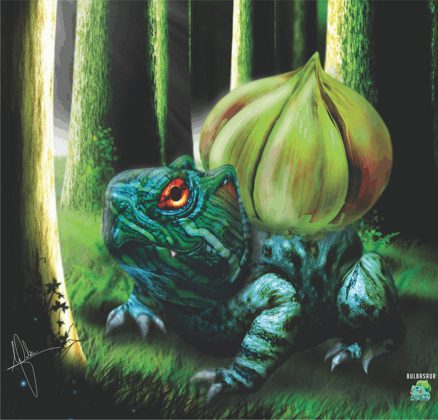 Amazing Bulbasaur Art Pokemon Fan Art 10 Pics Pokémon X And Y