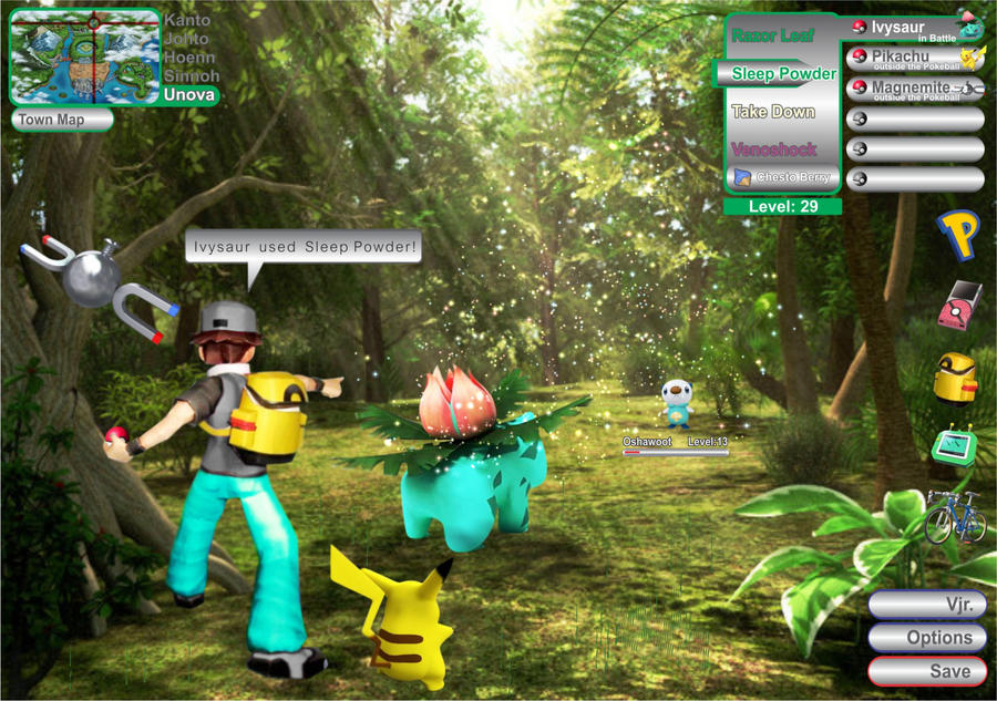 Gridmovement 3d pok mon 3d - Pokemon 3d download ...
