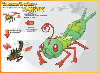 Lanceofdragon 32 9 Yanpup Pre Evolution Of Yanma By
