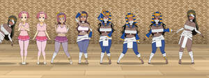 Rise of the New Pharaoh Queen (TF Sequence)