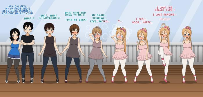 (TFTG) Join the ballerina club